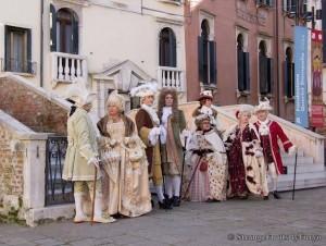 Le maschere del 700 Veneziano